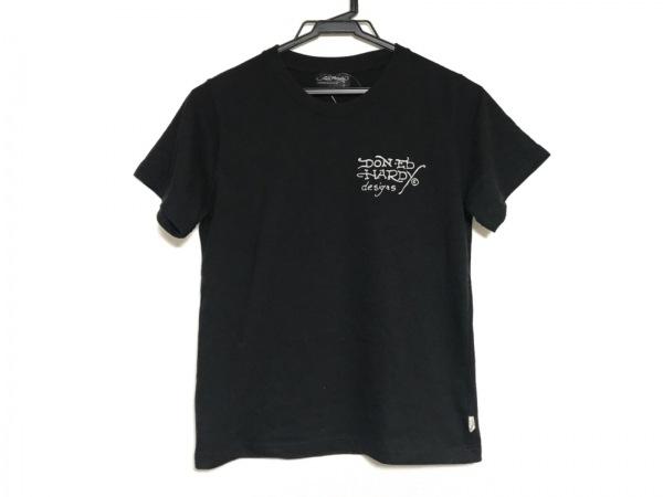 Ed Hardy(エドハーディー) 半袖Tシャツ サイズS レディース 黒