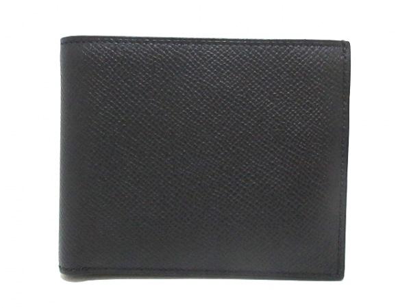 HERMES(エルメス) 2つ折り財布美品  MC2タレス 黒 ヴォーエプソン