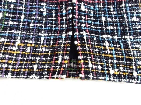 シャネル ワンピース サイズ38 M レディース美品  黒×ピンク×マルチ ツイード