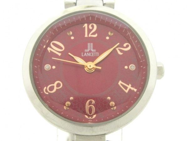 LANCETTI(ランチェッティ) 腕時計 LT-6211 レディース レッド