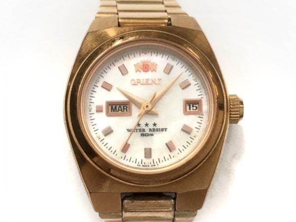 ORIENT(オリエント) 腕時計 NQ1R-R1 レディース シェル文字盤 白