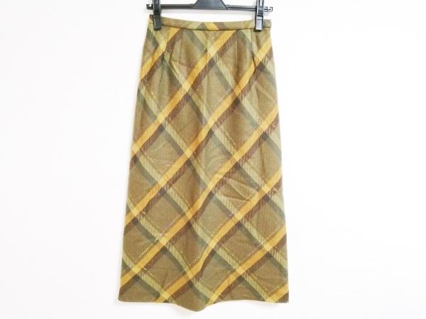 Leilian(レリアン) ロングスカート サイズ9 M レディース美品  チェック柄