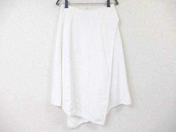 Drawer(ドゥロワー) ロングスカート サイズ36 S レディース 白