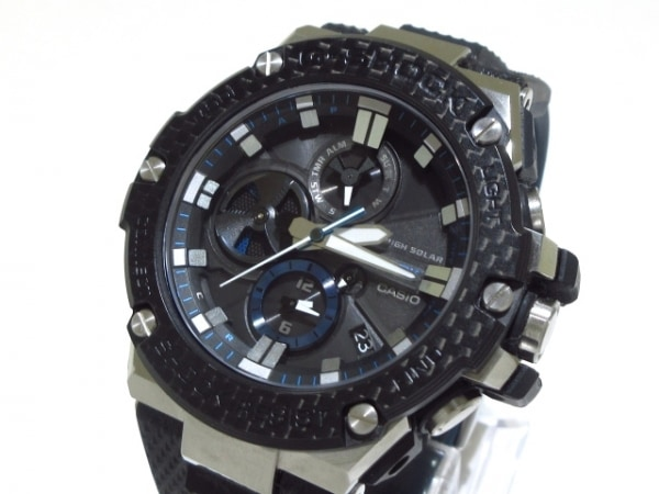 CASIO(カシオ) 腕時計 G-SHOCK GST-B100XA-1AJF メンズ 黒