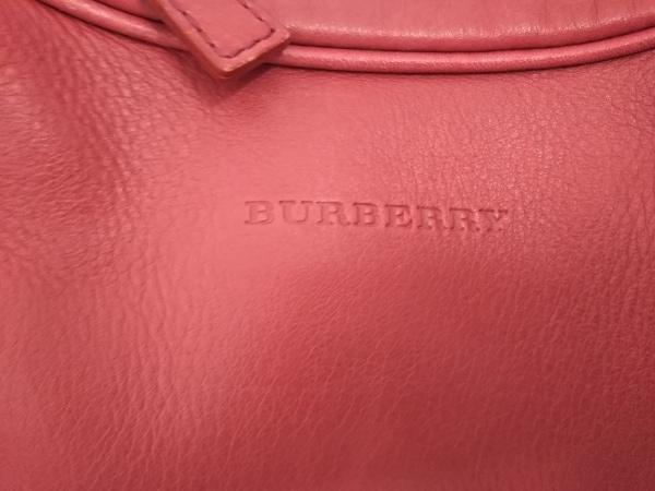 Burberry(バーバリー) ショルダーバッグ レッド レザー