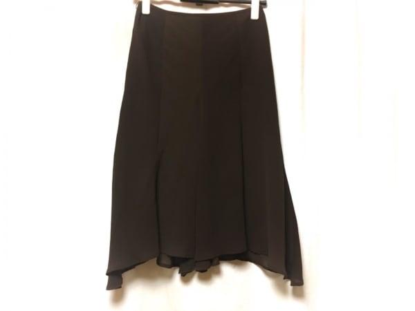 M'S GRACY(エムズグレイシー) スカート サイズ38 M レディース ダークブラウン