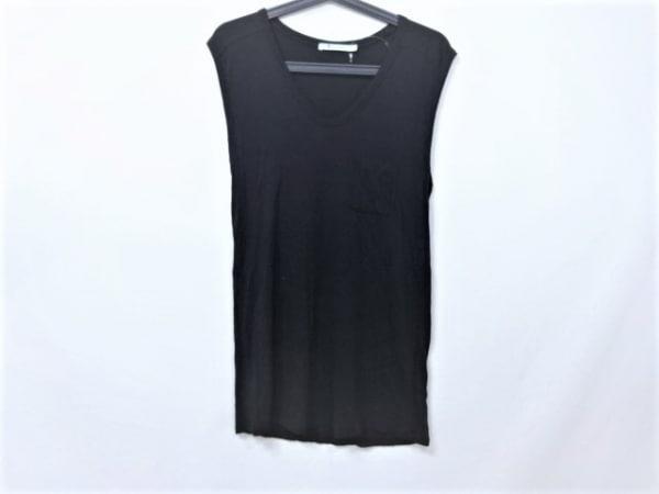 アレキサンダーワン ノースリーブTシャツ サイズsmall S レディース美品  黒