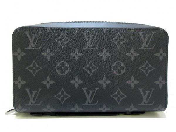 ルイヴィトン 長財布 モノグラムエクリプス(キャンバス)美品  ジッピーXL M61698