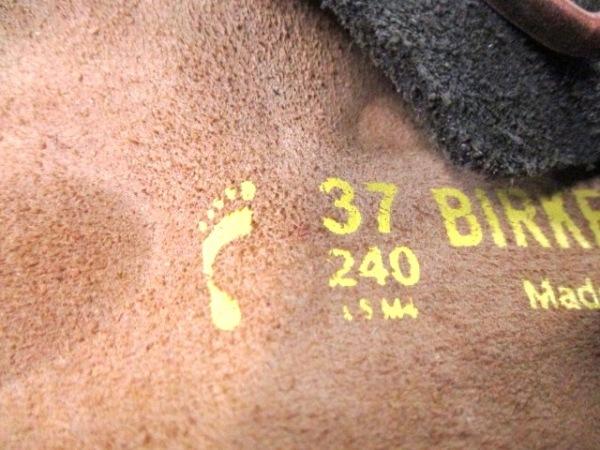 BIRKEN STOCK(ビルケンシュトック) サンダル 37 レディース カーキ スエード