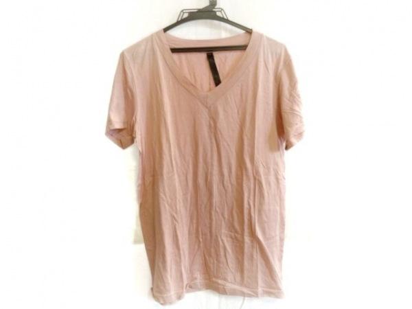 WJK(ダブルジェイケイ) 半袖Tシャツ サイズL レディース ピンク