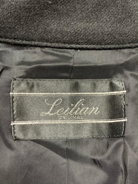 Leilian(レリアン) ポンチョ サイズ9 M レディース 黒