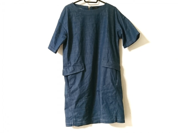 modify(モディファイ) ワンピース サイズ40 M レディース美品  ブルー