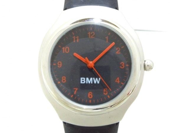 BMW(ビーエムダブリュ) 腕時計美品  - ボーイズ 黒