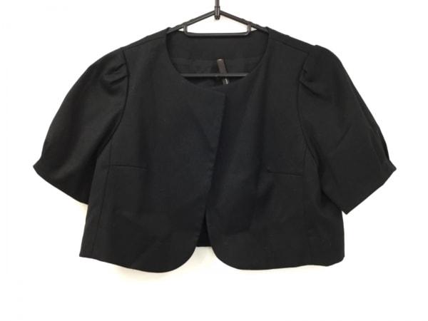 メルチェリアドレステリア ジャケット サイズ36 S レディース美品  黒 ショート丈
