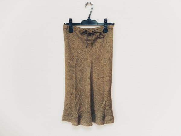 TRU TRUSSARDI(トゥルートラサルディ) スカート サイズ40 M レディース美品  イエロー