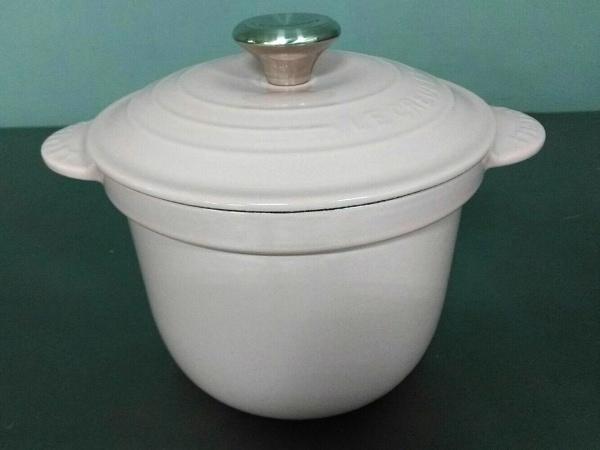 LE CREUSET(ルクルーゼ) 食器新品同様  ピンク 鍋 鋳物(ホーロー)