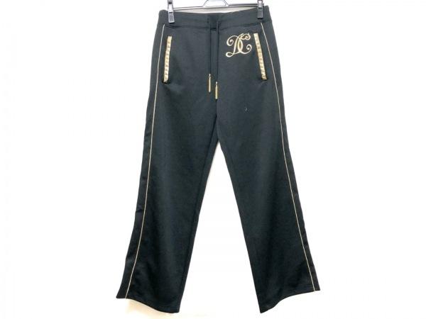 DRESS CAMP(ドレスキャンプ) パンツ サイズ48 XL メンズ 黒×ゴールド スタッズ/ラメ