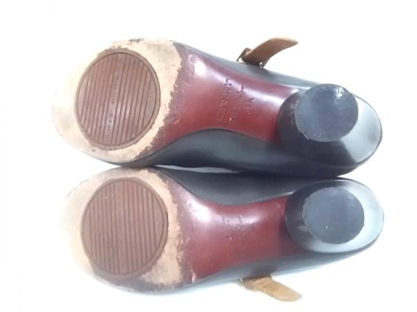 CHIE MIHARA(チエミハラ) パンプス 35 1/2 レディース ダークグレー レザー