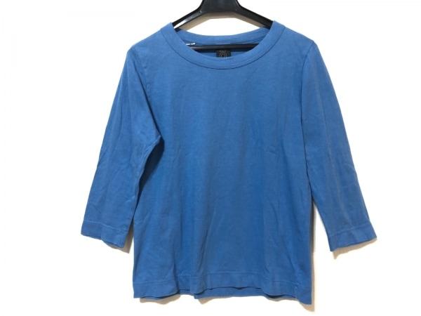 homspun(ホームスパン) 七分袖Tシャツ サイズS レディース ブルー