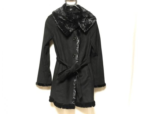 STRAWBERRY-FIELDS(ストロベリーフィールズ) コート サイズ2 M レディース 黒 冬物