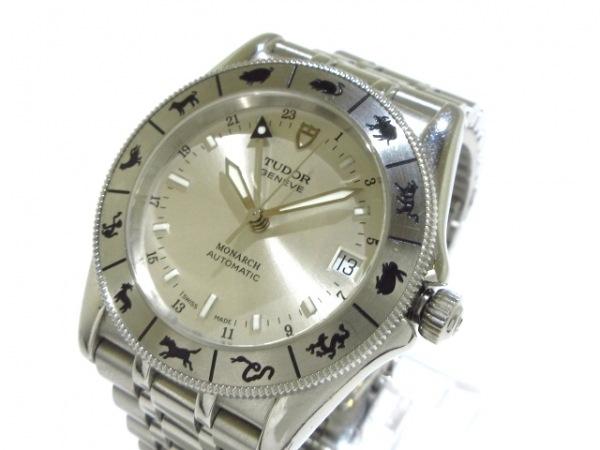 TUDOR(チューダー) 腕時計 モナーク 38080 メンズ GMT シルバー