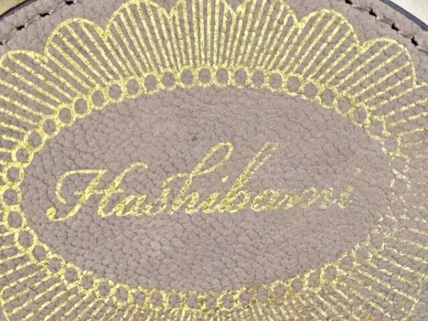 HASHIBAMI(ハシバミ) ハンドバッグ ブラウン レザー