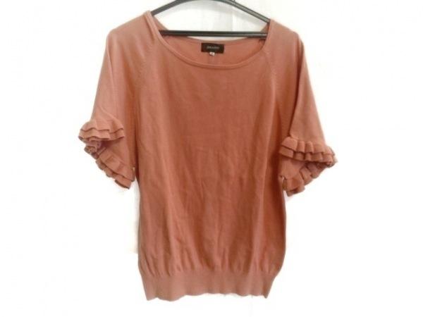 JUSGLITTY(ジャスグリッティー) 半袖セーター サイズ2 M レディース美品  ピンク