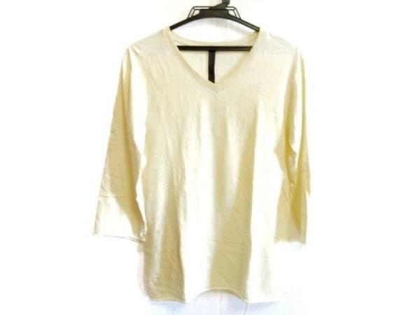 WJK(ダブルジェイケイ) 七分袖Tシャツ サイズM メンズ アイボリー