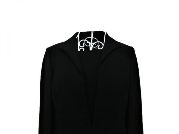 SOIR PERLE(ソワール ペルル) ワンピーススーツ サイズ11 M レディース 黒 肩パッド