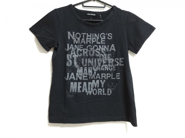 Jane Marple(ジェーンマープル) 半袖カットソー サイズM レディース美品  黒