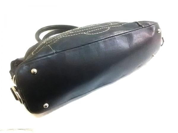 ヴィヴィアンウエストウッドアクセサリーズ ハンドバッグ 黒 オーブ/刺繍 レザー