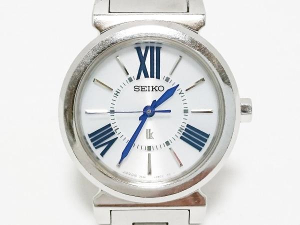 SEIKO(セイコー) 腕時計 ルキア 3B51-0AJ0 レディース 白