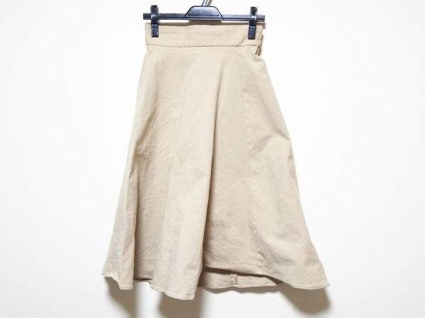 FRAY I.D(フレイアイディー) スカート サイズF レディース美品  ベージュ