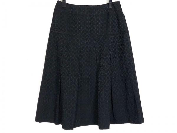 HIROKO BIS(ヒロコビス) スカート サイズ13AB L レディース 黒