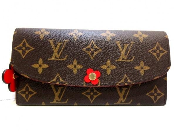 ルイヴィトン 長財布 モノグラム美品  ポルトフォイユ・エミリー M64202