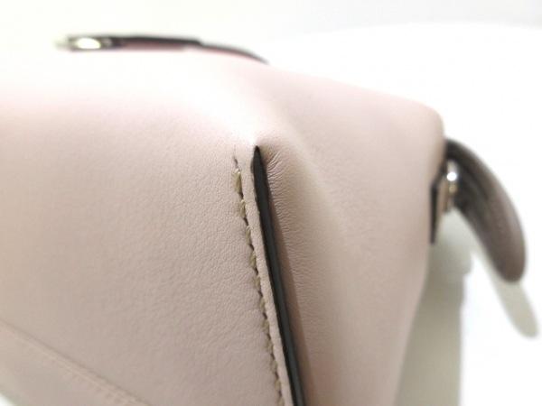フェンディ ハンドバッグ美品  バイザウェイ 8BL124-5QJ ピンク×ライトブルー レザー
