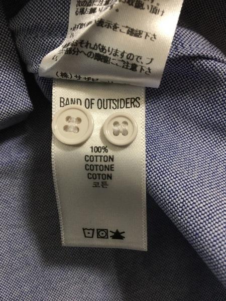 Band of Outsiders(バンドオブアウトサイダーズ) 半袖シャツ サイズ2 M メンズ美品