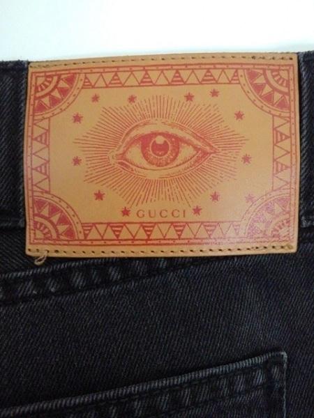 GUCCI(グッチ) ジーンズ サイズ32 XS メンズ 408636 XD724 黒 8