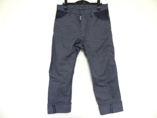 DSQUARED2(ディースクエアード) パンツ サイズ46 S メンズ ダークネイビー×白