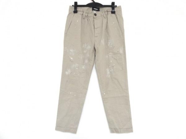 DSQUARED2(ディースクエアード) パンツ サイズ46 S メンズ ベージュ