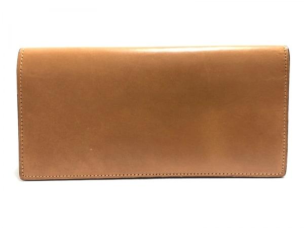 土屋鞄製造所(ツチヤカバンセイゾウショ) 長財布 ライトブラウン レザー