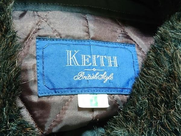 KEITH(キース) コート レディース ダークブラウン インナー取り外し可/冬物