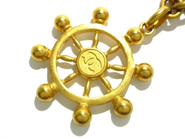 CHANEL(シャネル) ネックレス 金属素材 ゴールド 舵輪