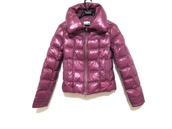 PINKO(ピンコ) ダウンジャケット サイズI42 M レディース ピンク 冬物/ジップアップ