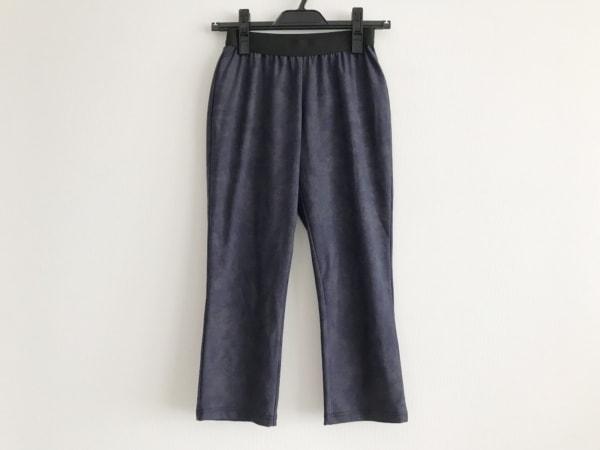 HIROKO BIS(ヒロコビス) パンツ サイズ7 S レディース美品  ネイビー×黒