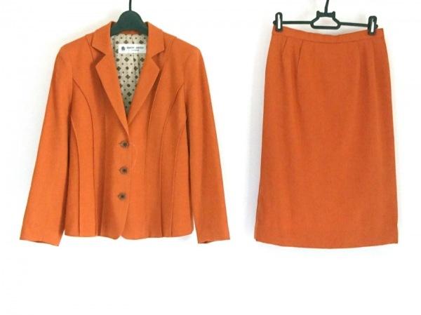 ハーディエイミス スカートスーツ サイズ38 M レディース オレンジブラウン