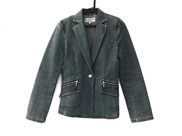 ヴァンドゥ オクトーブル ジャケット サイズ36 S レディース美品  ブルー デニム