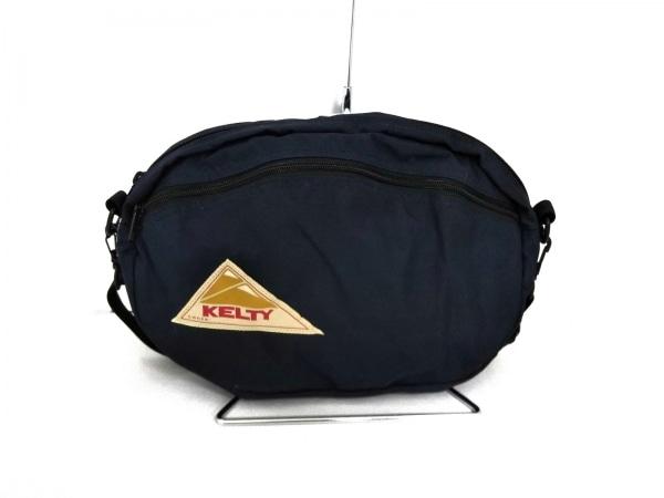 KELTY(ケルティ) ショルダーバッグ新品同様  ネイビー 化学繊維