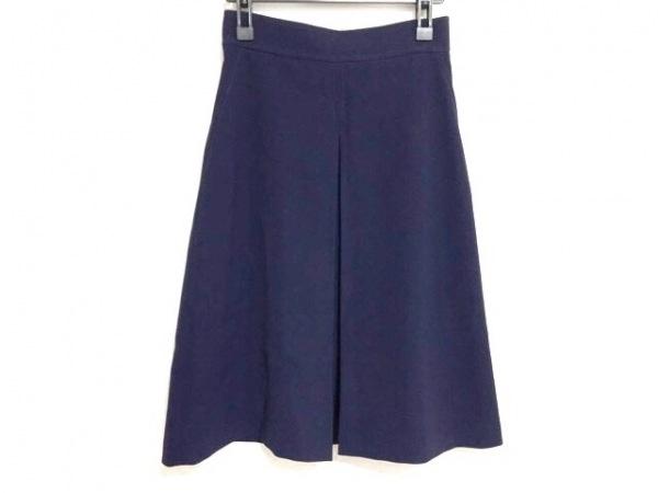ダイアグラム スカート サイズ38 M レディース美品  パープル