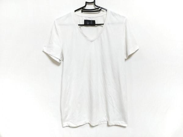 WJK(ダブルジェイケイ) 半袖Tシャツ サイズL メンズ 白